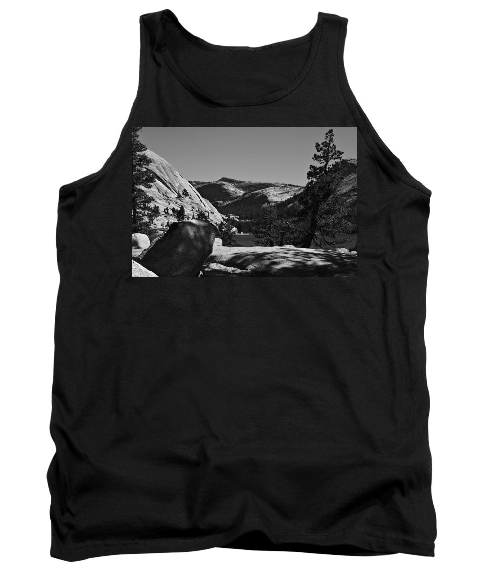 Tenaya Tank Top featuring the photograph Tenaya Lake In Yosemite by Gene Norris