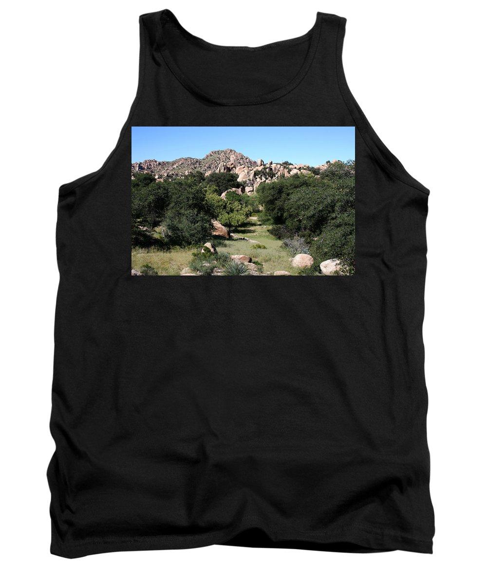 Texas Canyon Tank Top featuring the photograph Texas Canyon Landscape by Joe Kozlowski