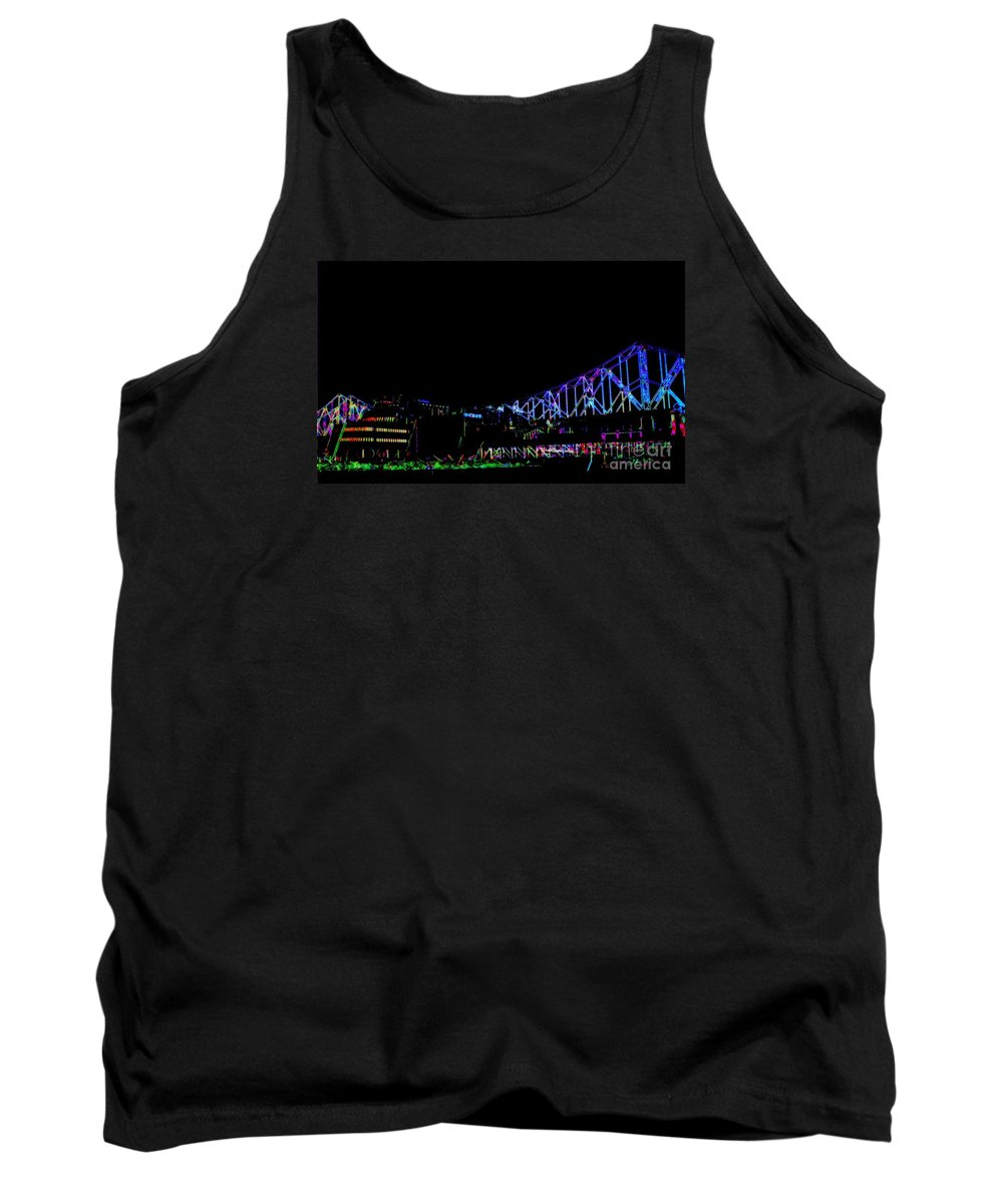 Tank Top featuring the photograph The Admiral In Neon by Kelly Awad