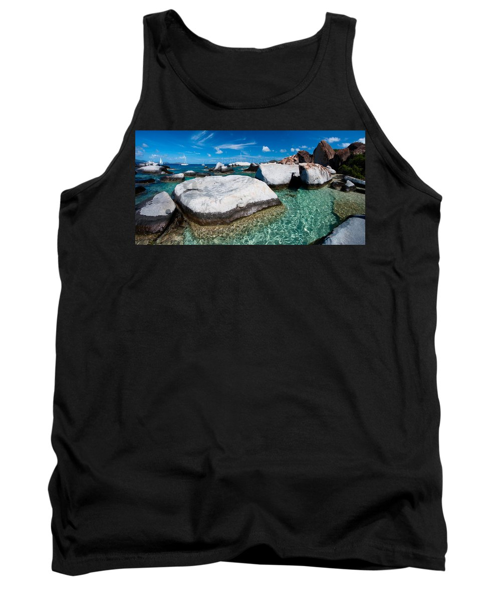 3scape Tank Top featuring the photograph The Baths by Adam Romanowicz