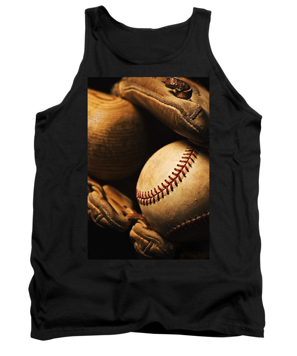 Activity Tank Top featuring the photograph The Beautiful Game by Karen Shukle
