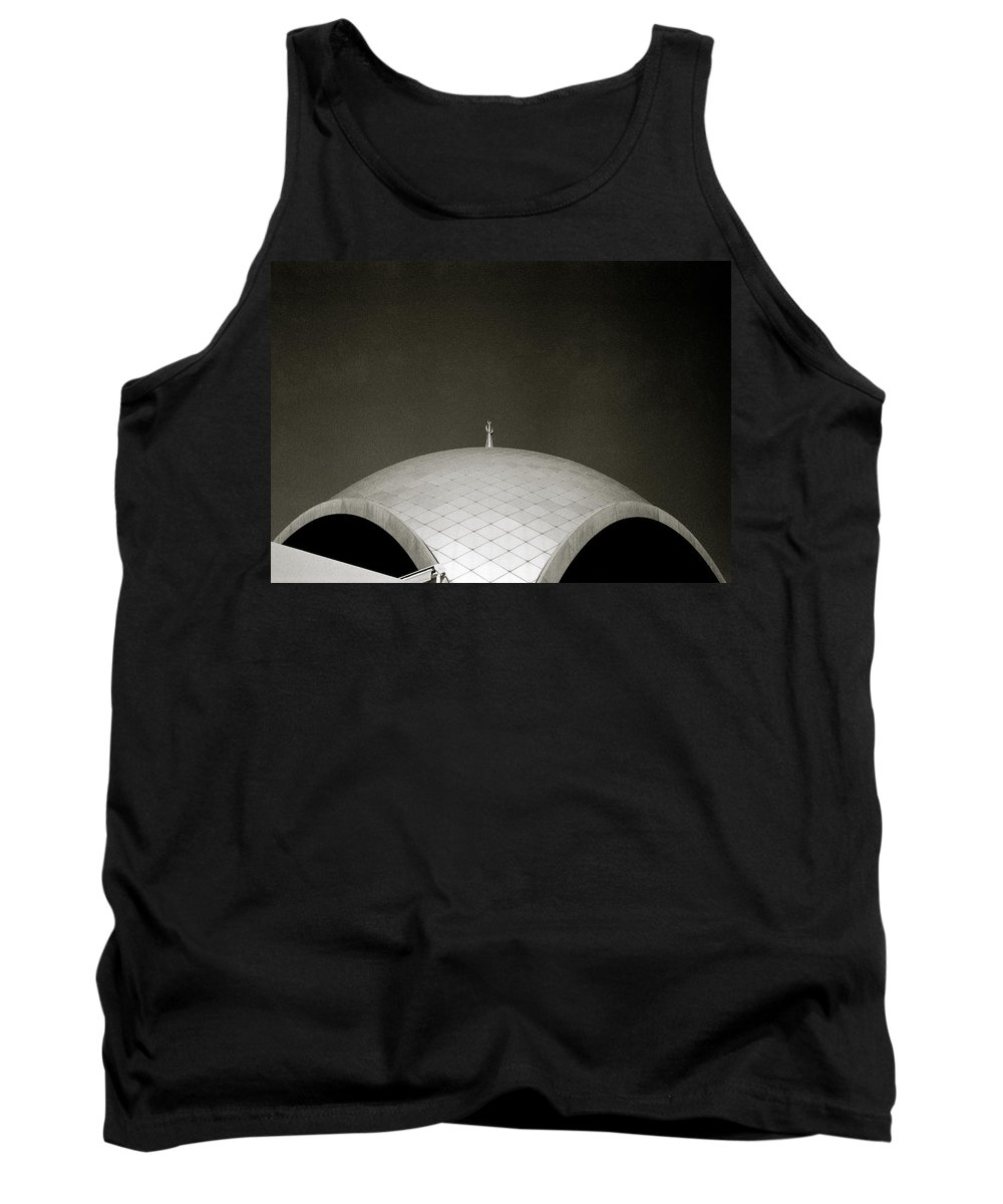 Inspiration Tank Top featuring the photograph The Crescent by Shaun Higson