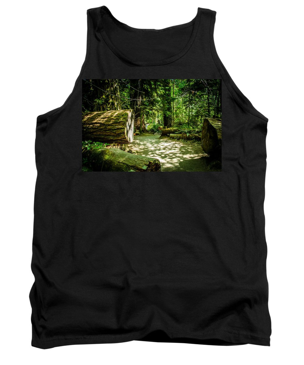 Old Growth Forest Tank Top featuring the photograph The Fallen Collection 13 by Roxy Hurtubise