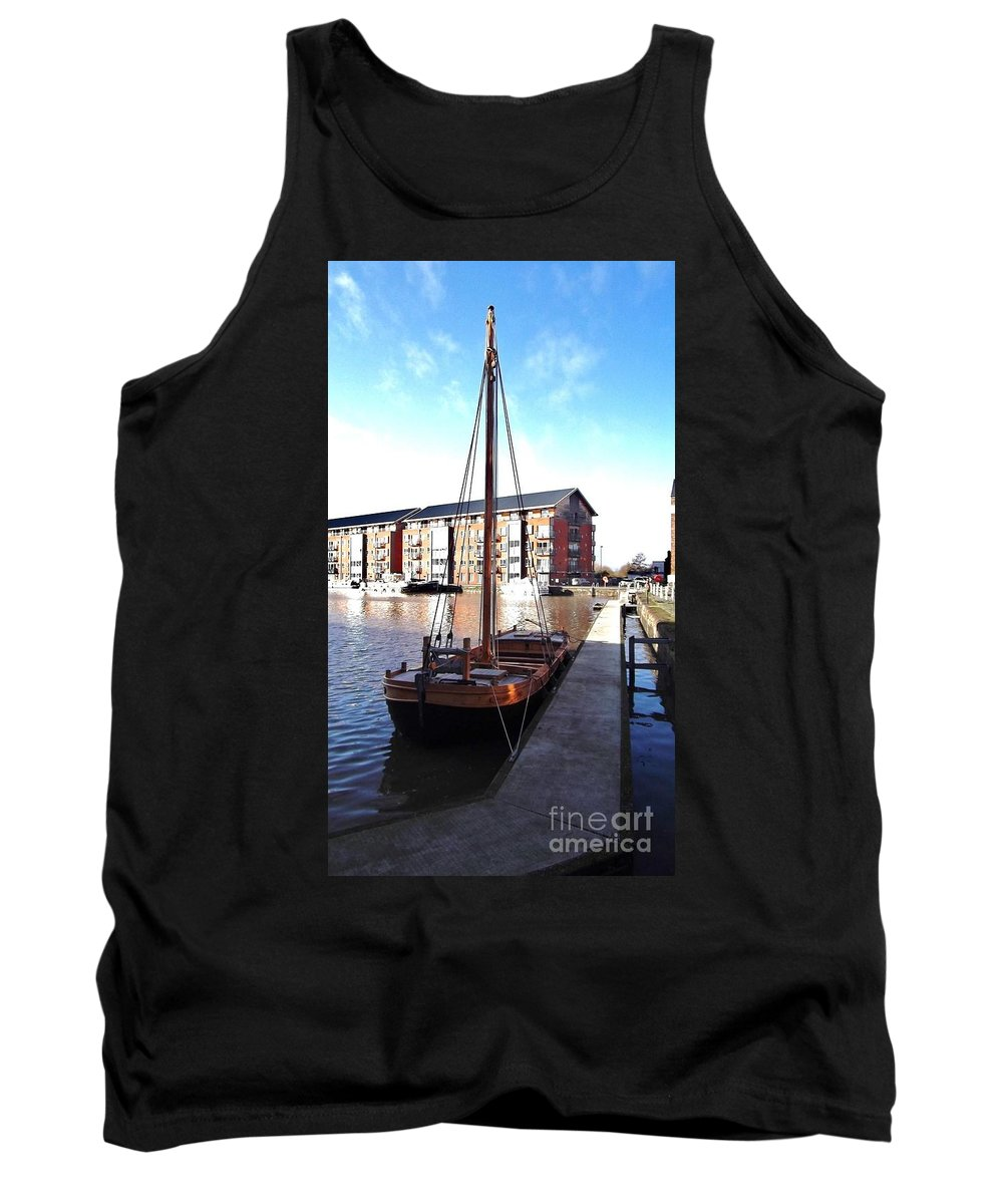 The Hereford Bull Tank Top featuring the photograph The Hereford Bull 1 by John Williams