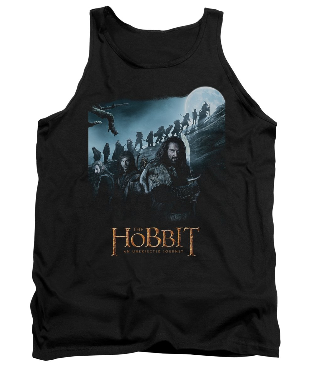 The Hobbit Tank Top featuring the digital art The Hobbit - A Journey by Brand A