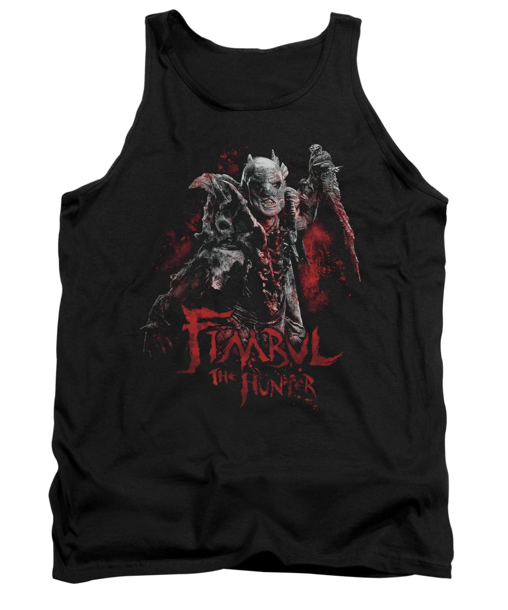 The Hobbit Tank Top featuring the digital art The Hobbit - Fimbul The Hunter by Brand A