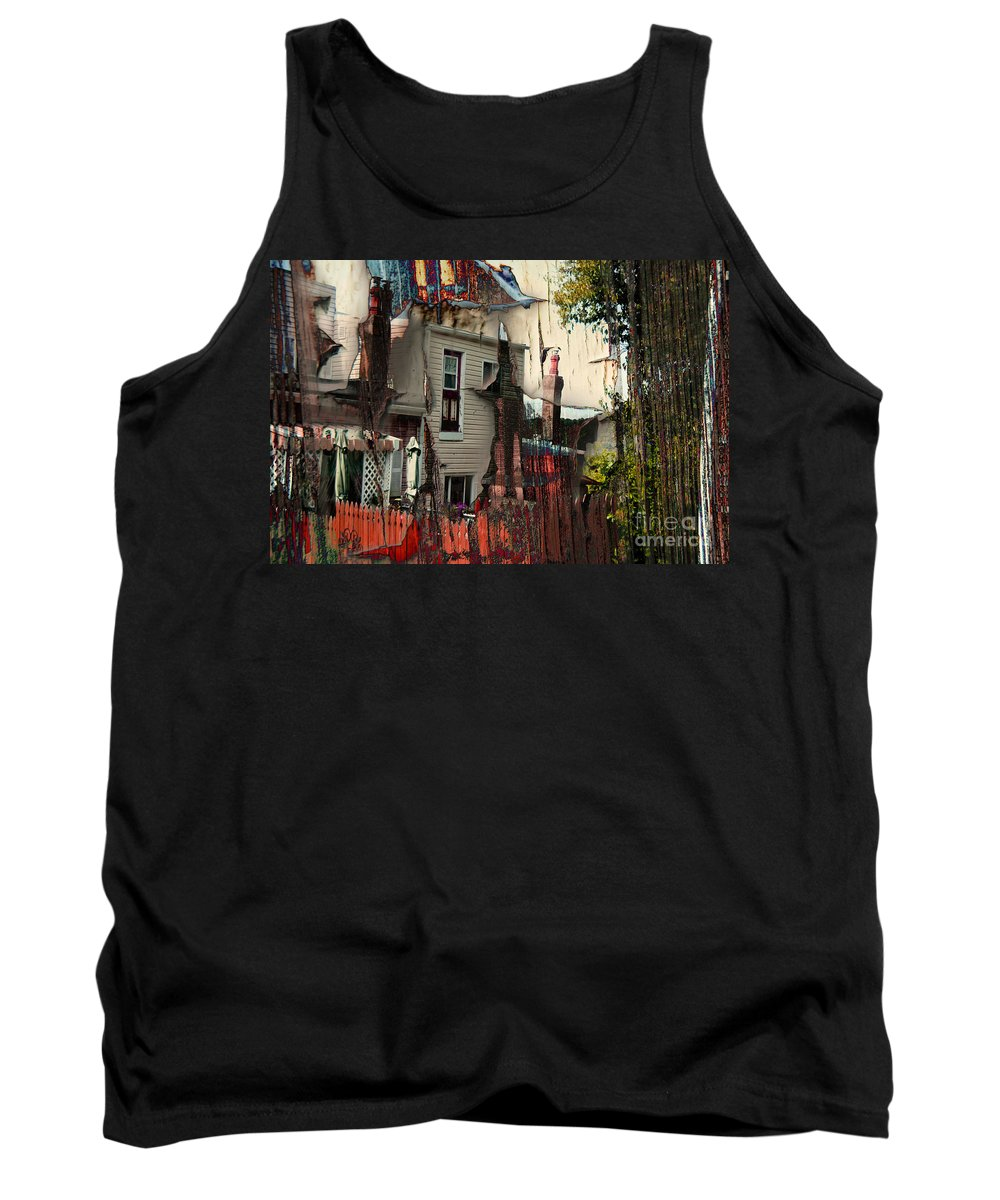 House Tank Top featuring the photograph The House That Jack Built by Jay Ressler
