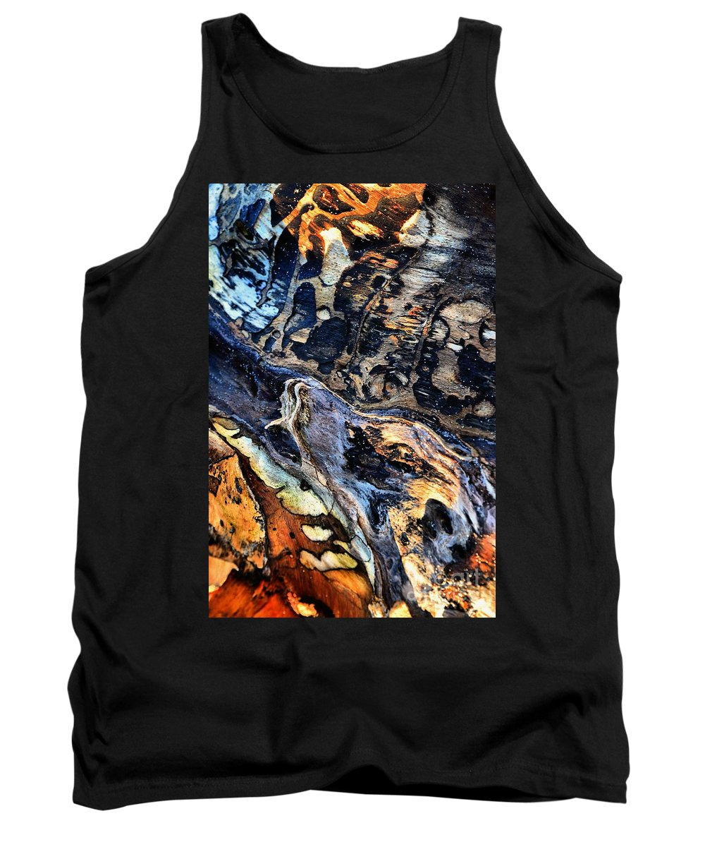 Abstract Tank Top featuring the photograph The Howling by Lauren Leigh Hunter Fine Art Photography