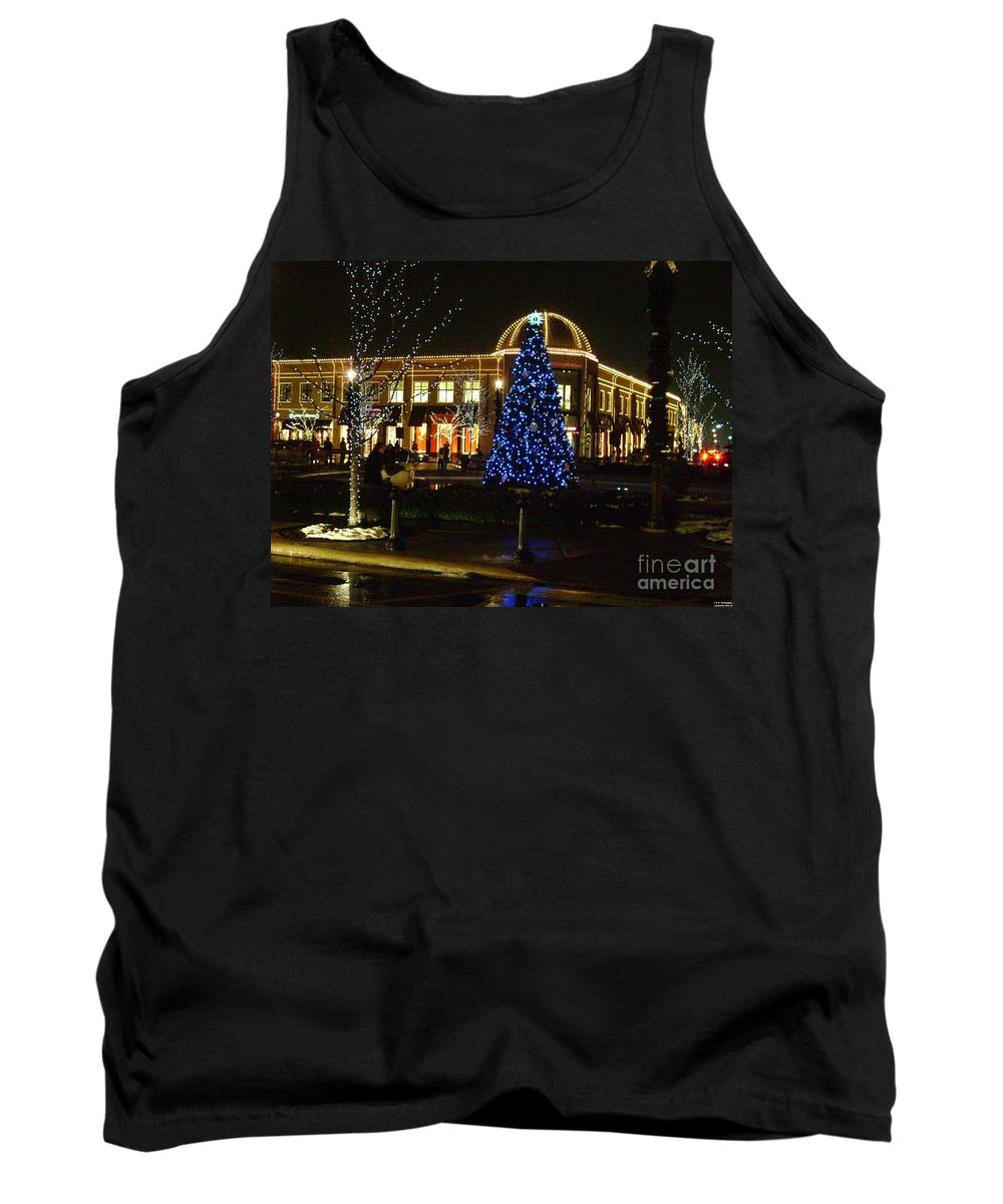 Christmas Card Prints Tank Top featuring the photograph The Joy Of Christmas by R A W M