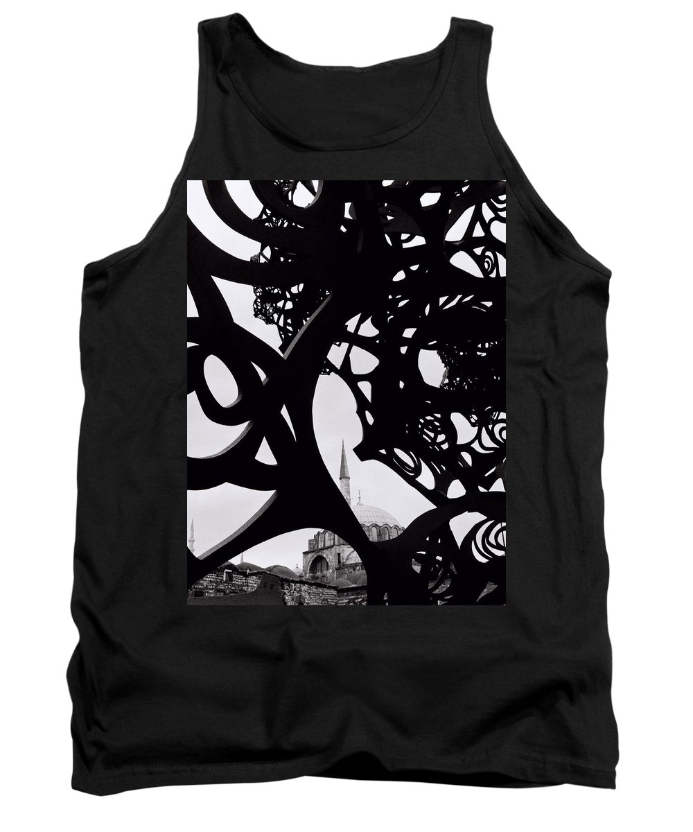 Art Tank Top featuring the photograph The Obscured Mosque by Shaun Higson