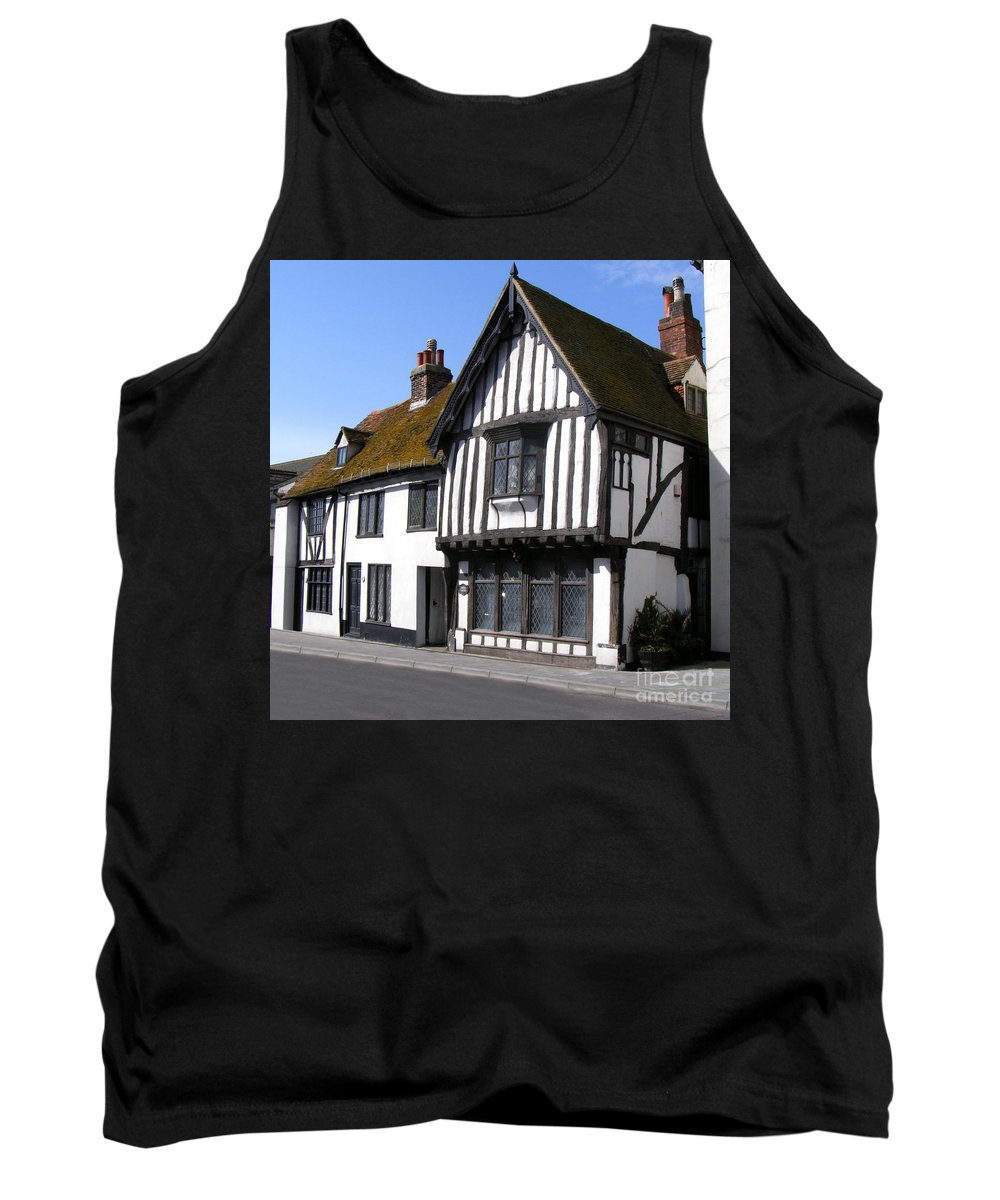 Old Court Hall Hastings Tank Top featuring the photograph The Old Court Hall Hastings by Terri Waters