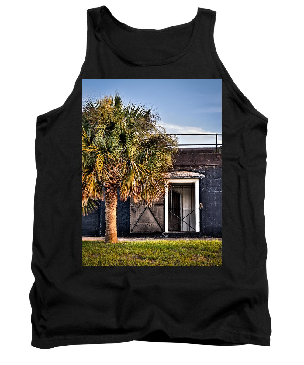 South Tank Top featuring the photograph The Old Fort-color by Andrew Crispi