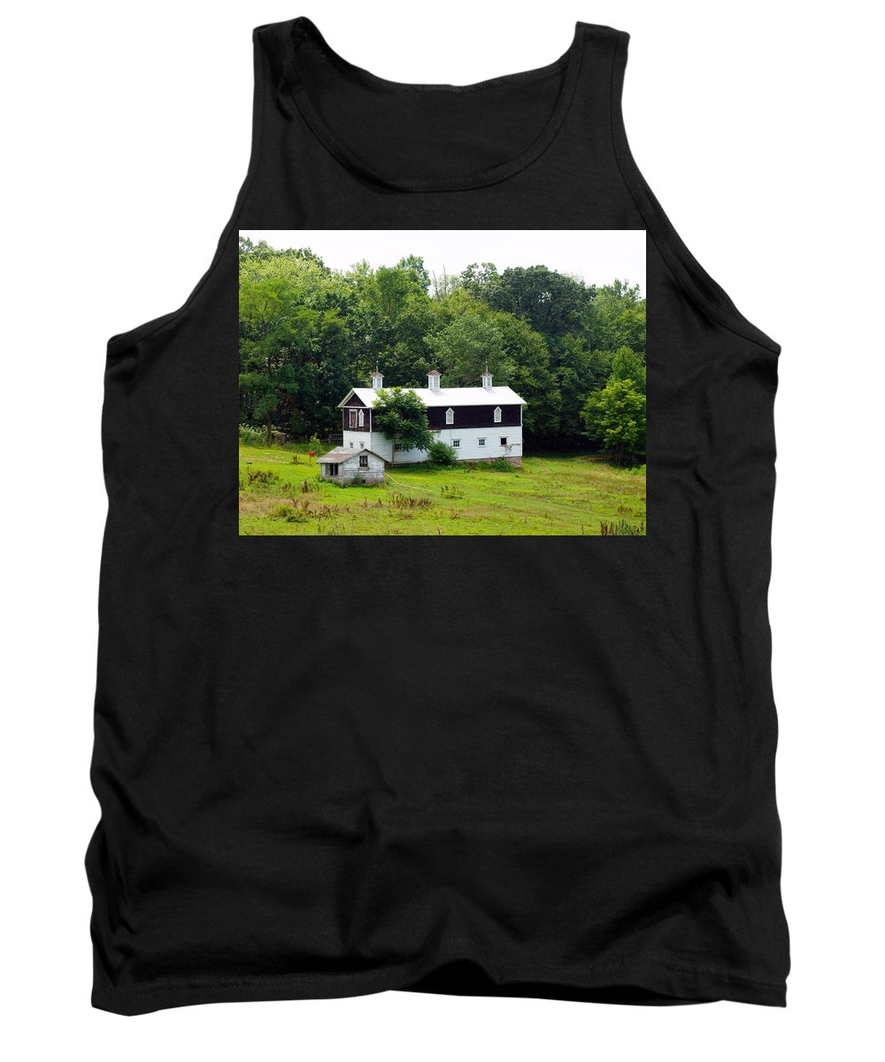 Cabins Tank Top featuring the photograph The Old Horse Barn by Robert Margetts