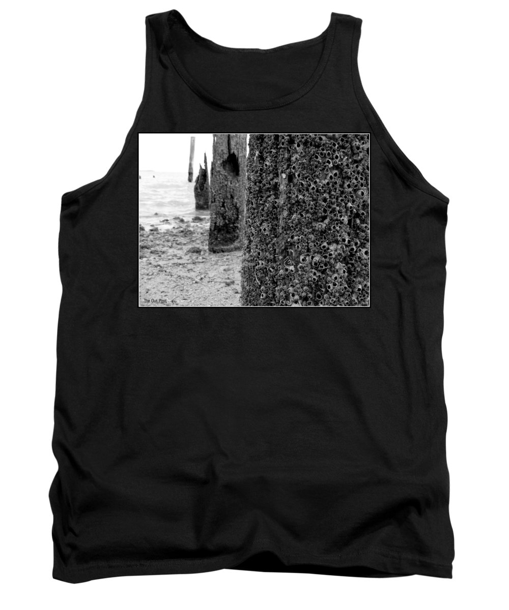 The Out Post Tank Top featuring the photograph The Out Post by Ed Smith
