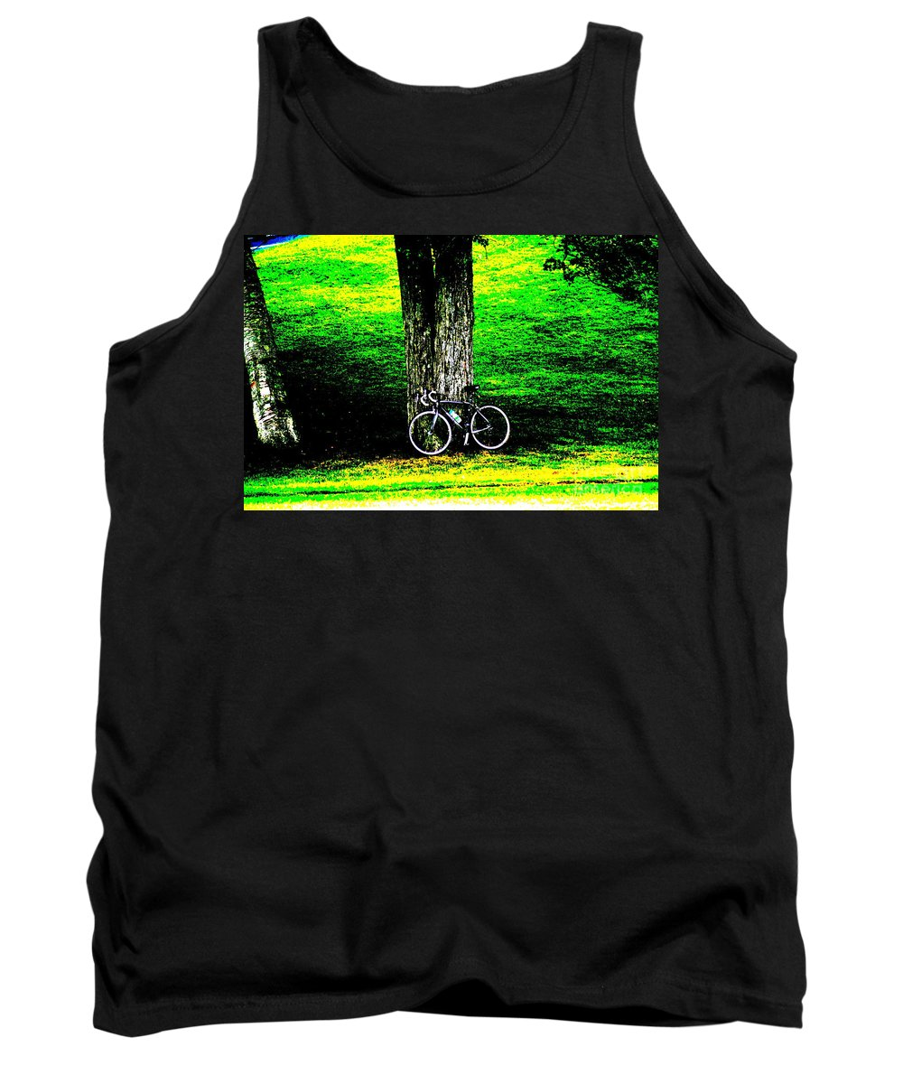 Parks Tank Top featuring the photograph The Park by Jeffery L Bowers