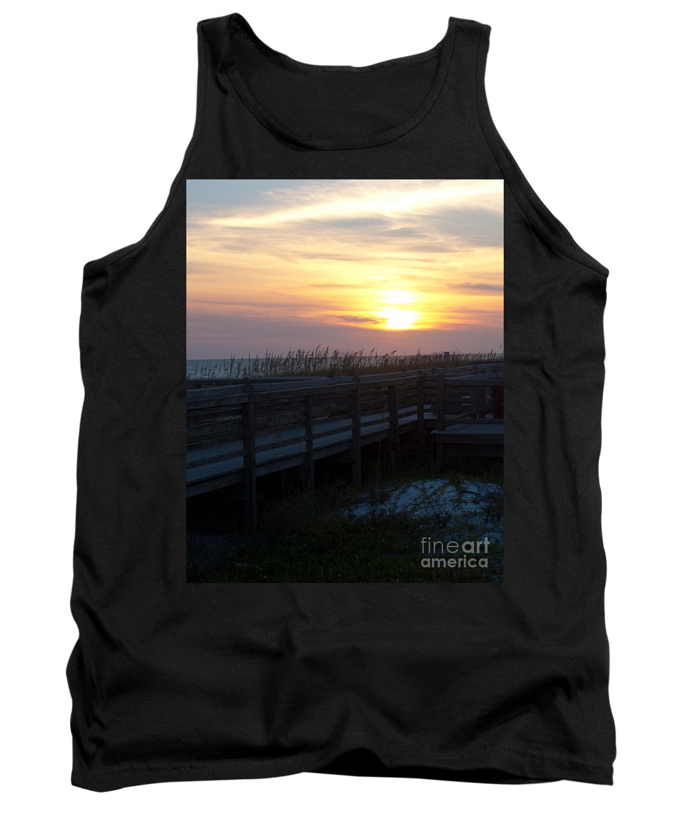 Path Tank Top featuring the photograph The Path by Tera Michaels