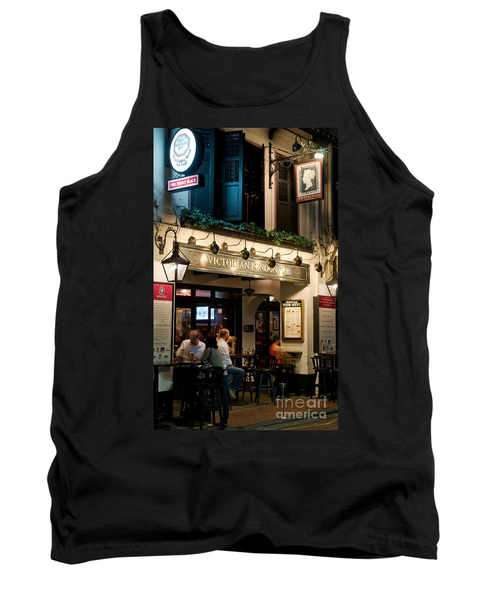 The Tank Top featuring the photograph The Penny Black by Rick Piper Photography