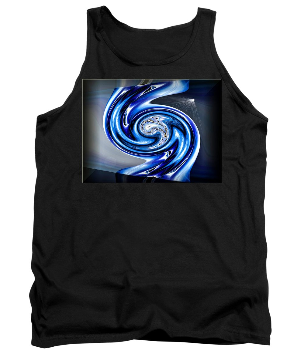 River Tank Top featuring the digital art The River Styx by Michael Damiani