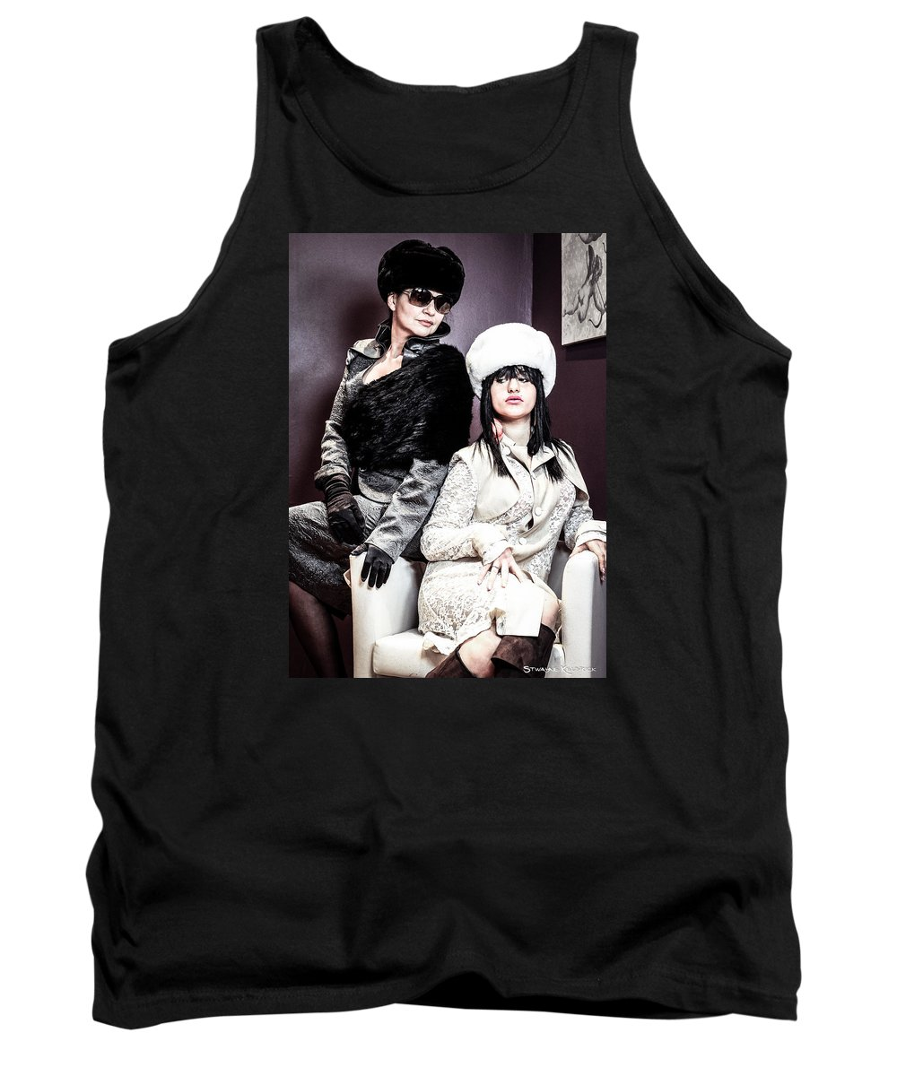 Models Tank Top featuring the photograph The Russian Institute by Stwayne Keubrick