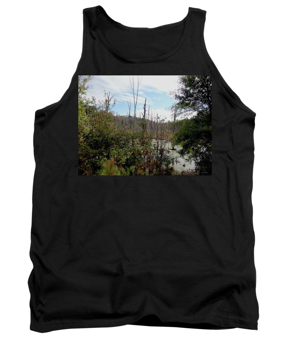 Swamp Tank Top featuring the photograph The Swamp by Sara Evans