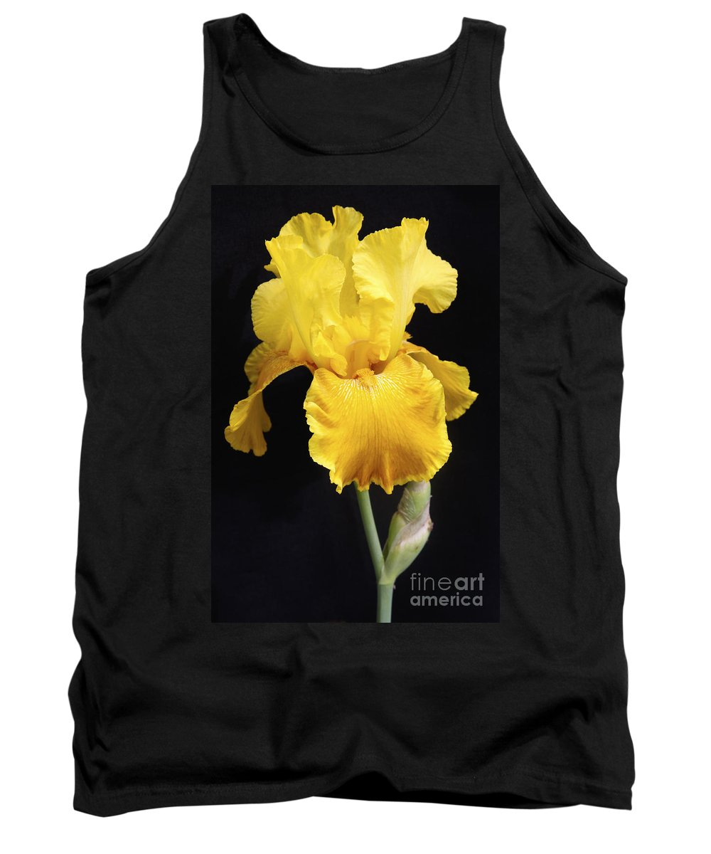 Iris Tank Top featuring the photograph The Temptress by Christina Gupfinger