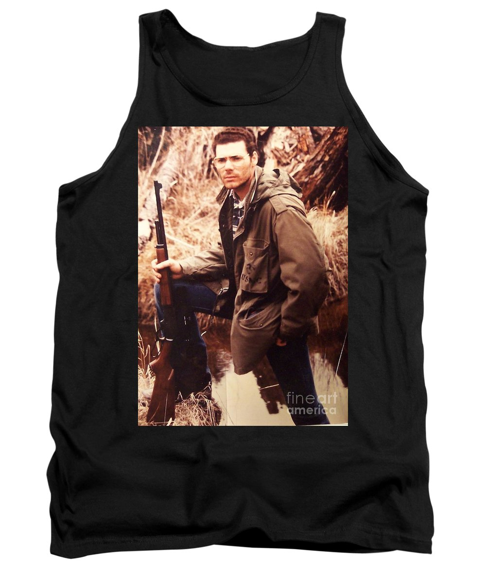 Tom Woolworth Tank Top featuring the photograph The Thought by Thomas Woolworth