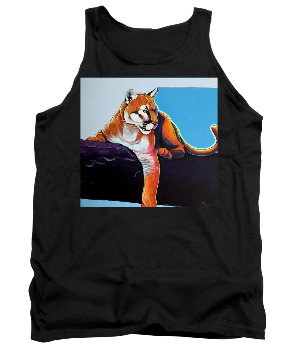 Wildlife Tank Top featuring the painting The Toll Collector by Joe Triano