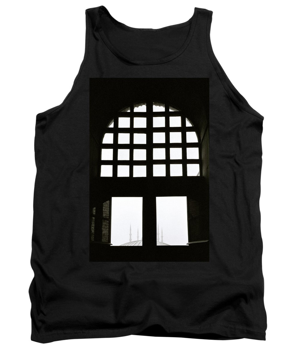 Hagia Sophia Tank Top featuring the photograph The Window by Shaun Higson