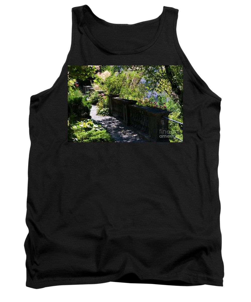 Rose Garden Tank Top featuring the photograph There Is Peace by Susanne Van Hulst
