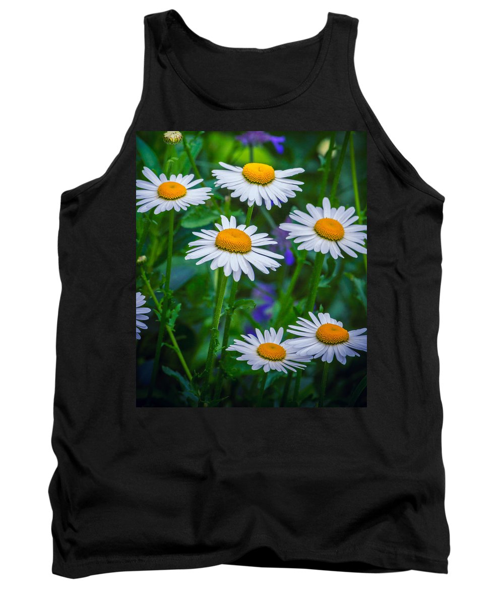 Floral Tank Top featuring the photograph Three Tiers Of Beauty by Garvin Hunter