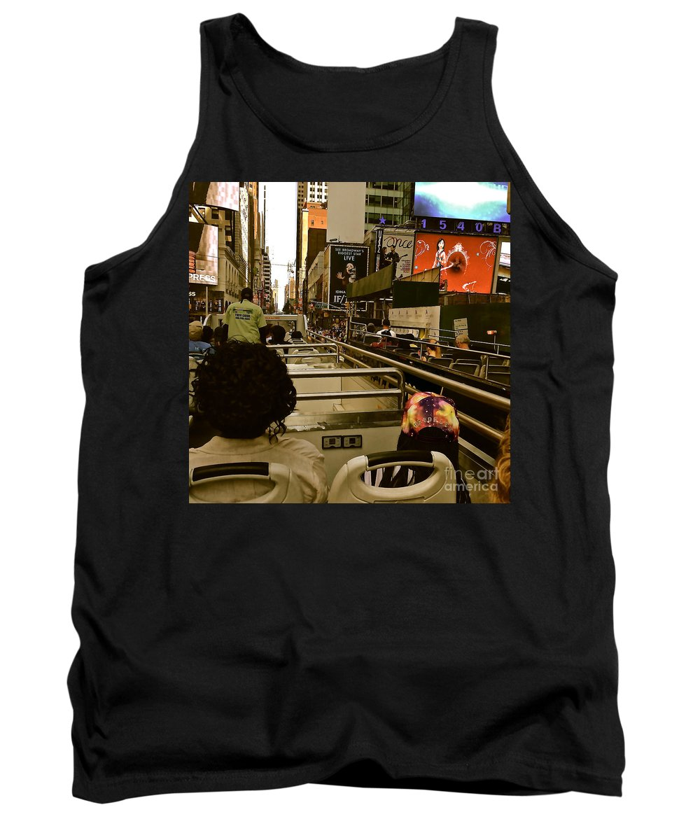 Touring Tank Top featuring the photograph Through A Tourist's Eye by Christy Gendalia