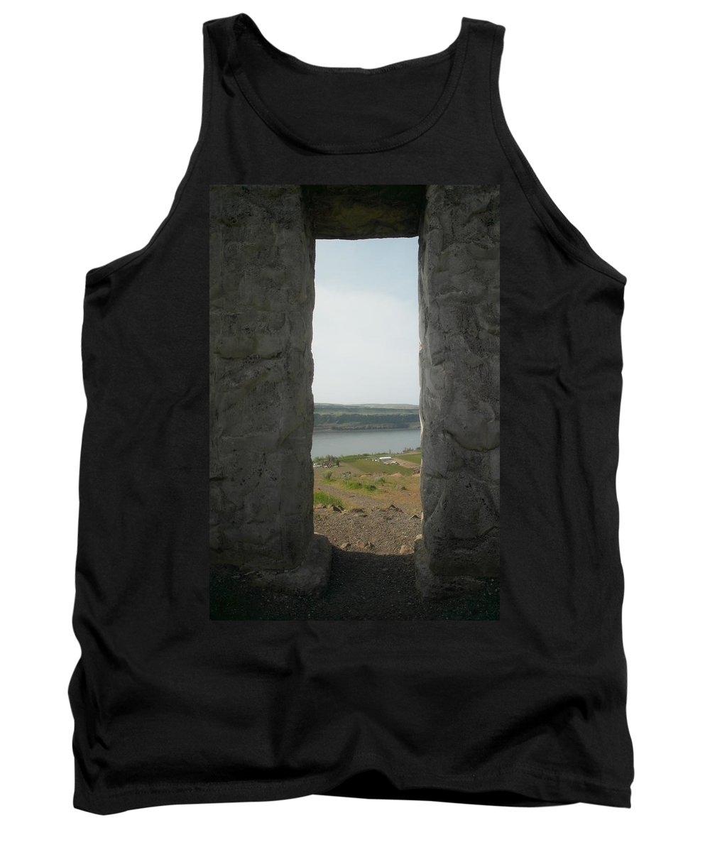 Windows Tank Top featuring the photograph Through Those Windows by Jeff Swan
