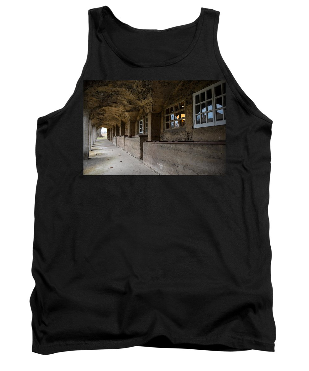 Arches Tank Top featuring the photograph Tile Works by Scott Hafer