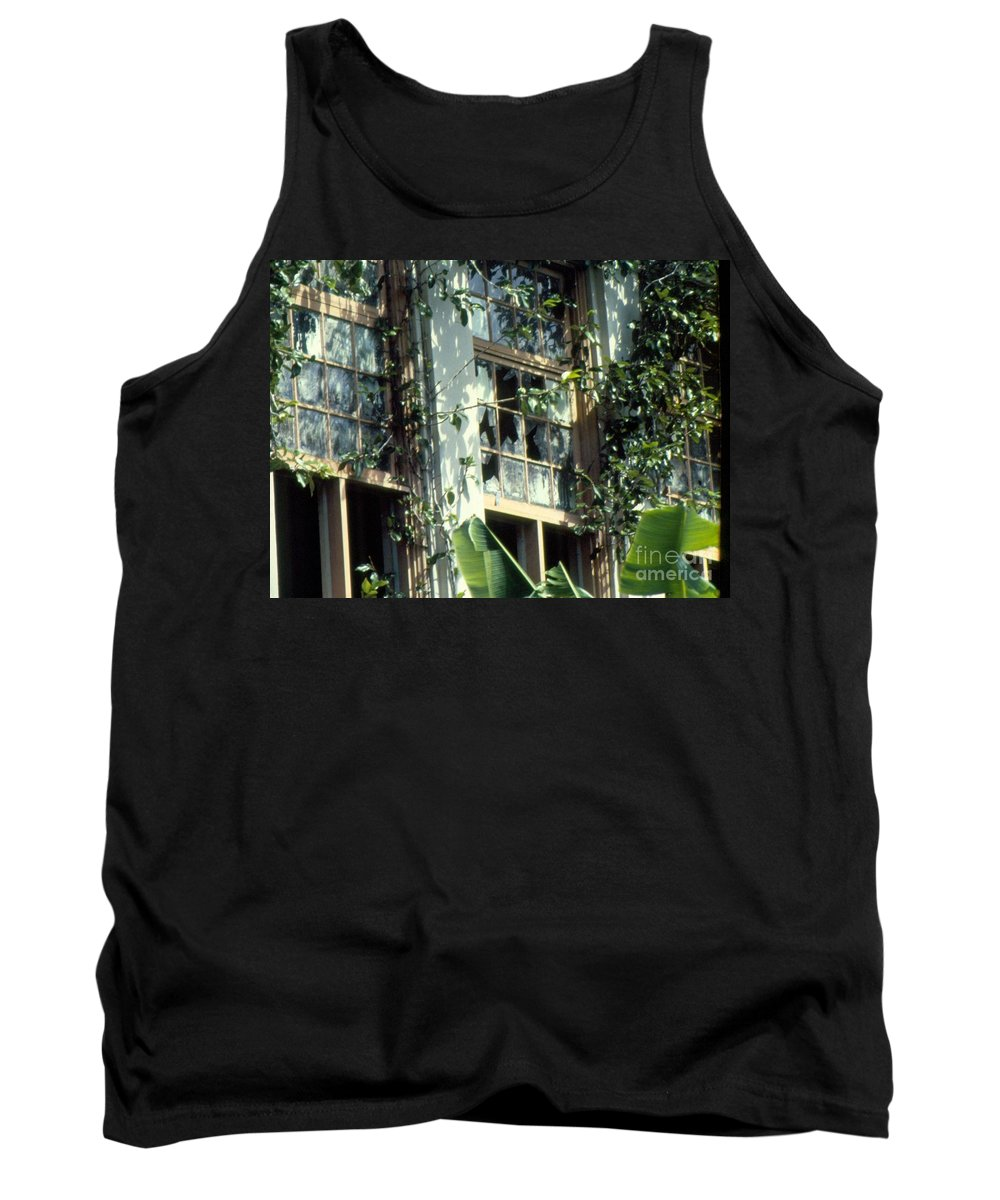 Time Tank Top featuring the photograph Time And Disrepair by Jussta Jussta