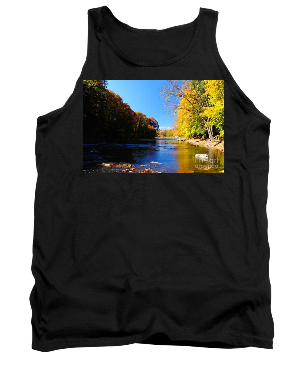 Rivers And Streams Tank Top featuring the photograph Time Moving On by Jeffery L Bowers