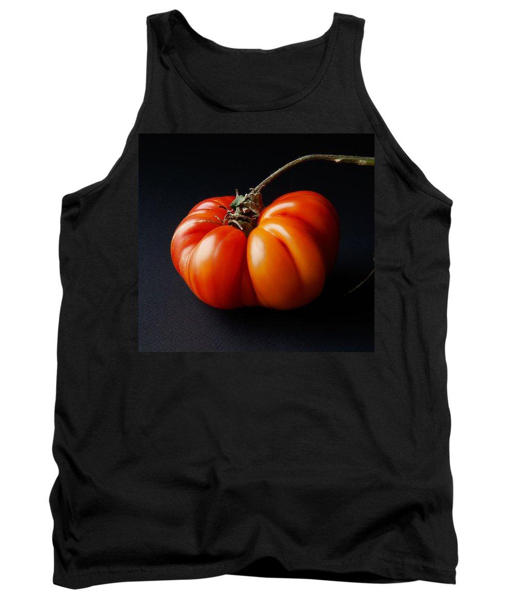 Tomato Tank Top featuring the photograph Tomato by Daniel Furon