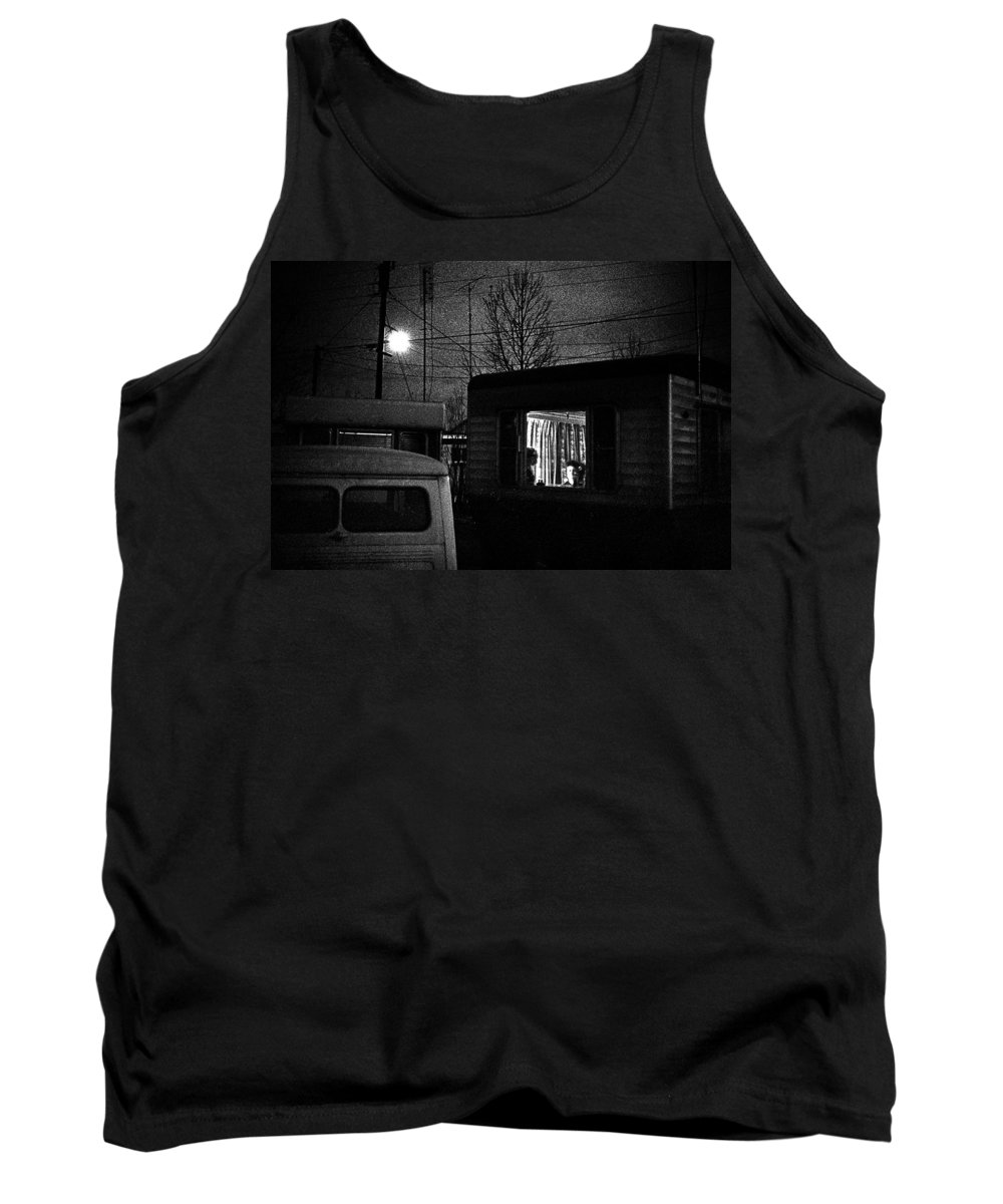 Home Tank Top featuring the photograph Trailer Home by Donald Erickson