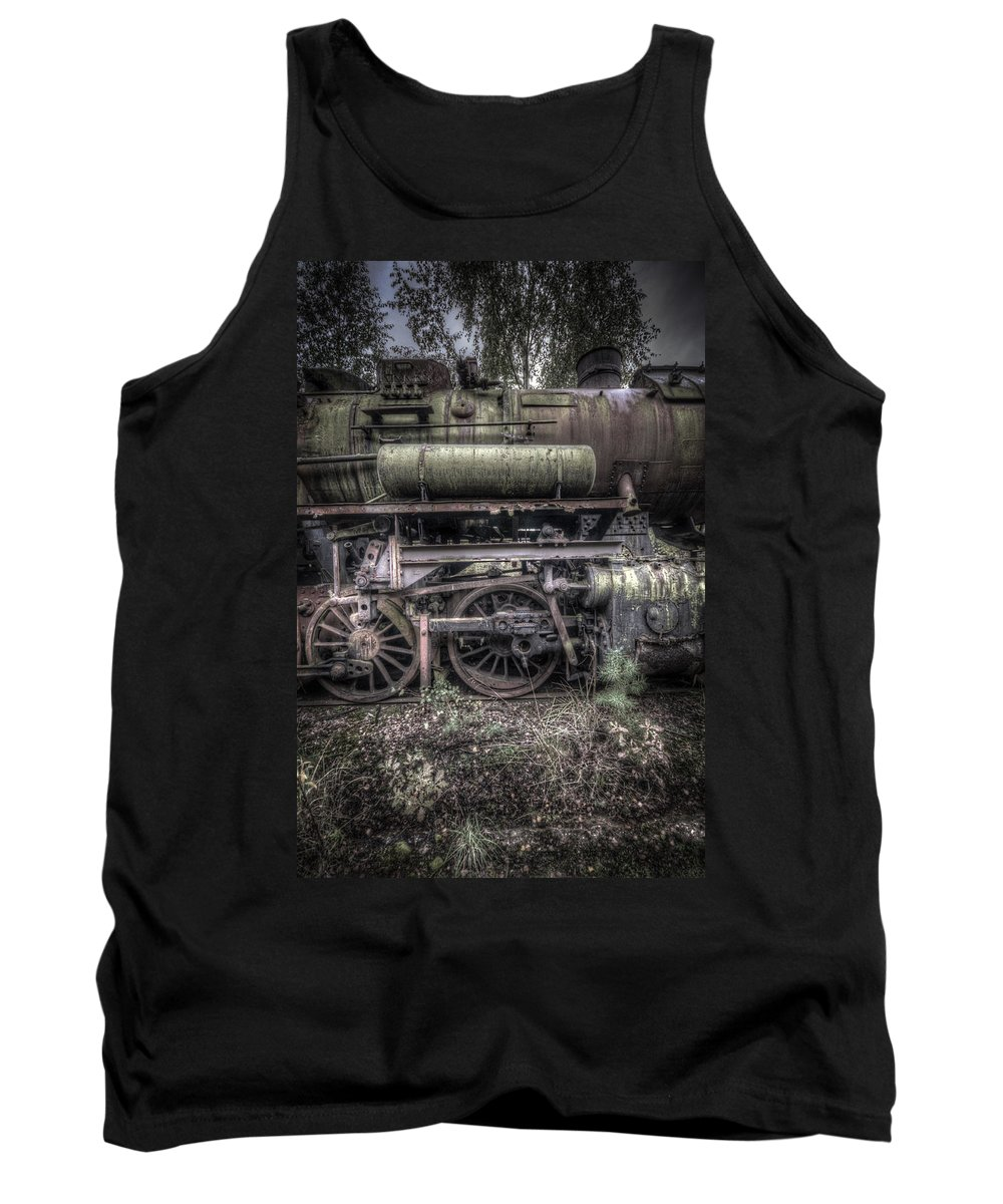 Germany Tank Top featuring the digital art Train 9 by Nathan Wright