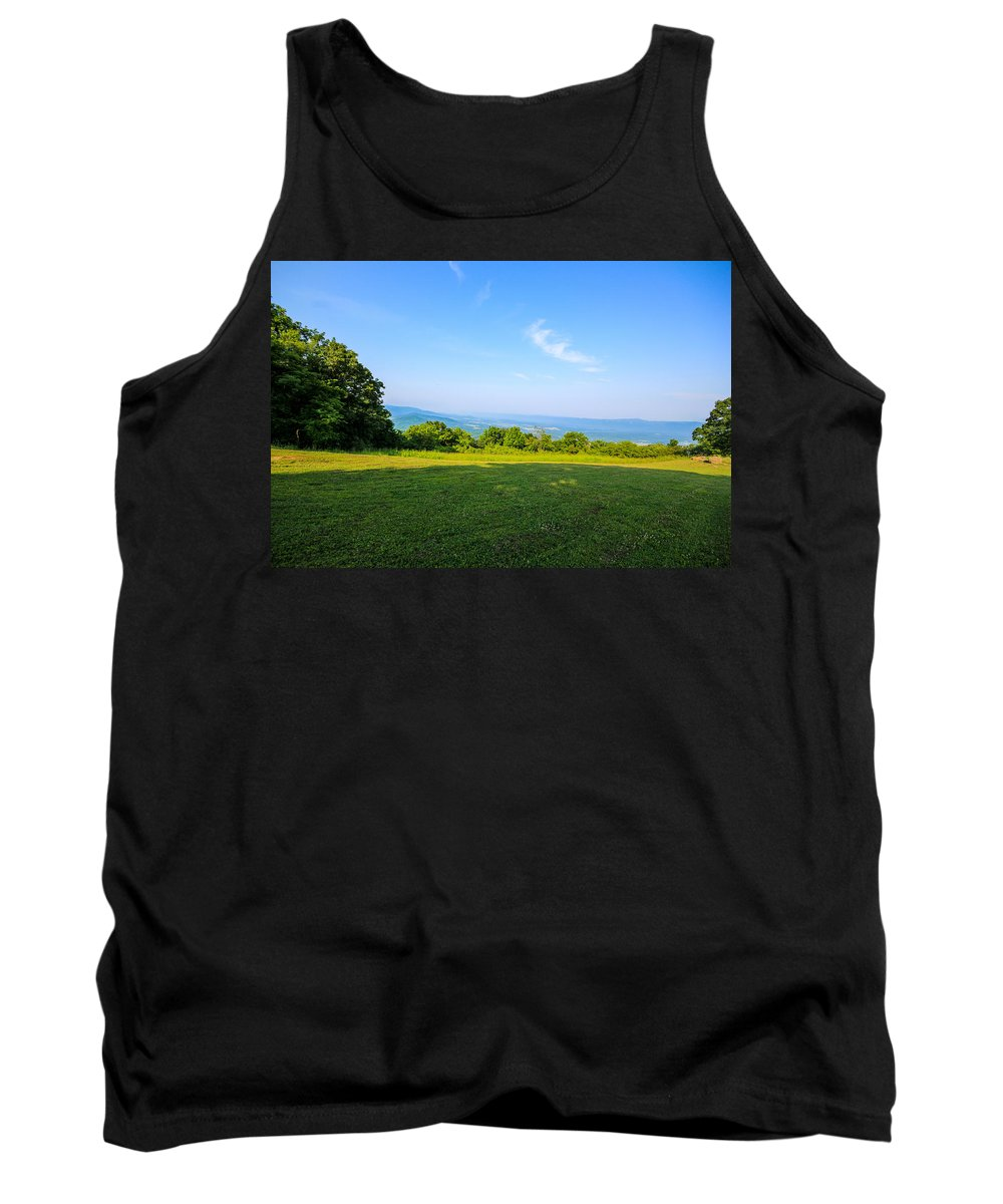 Grass Tank Top featuring the photograph Tranquility by Gaurav Singh