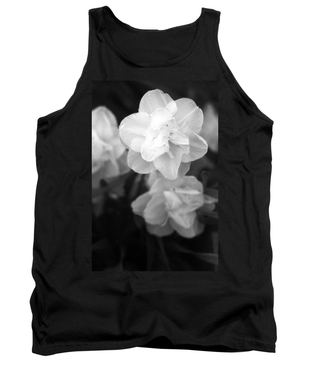Tulip Tank Top featuring the photograph Tulips - Infrared 02 by Pamela Critchlow