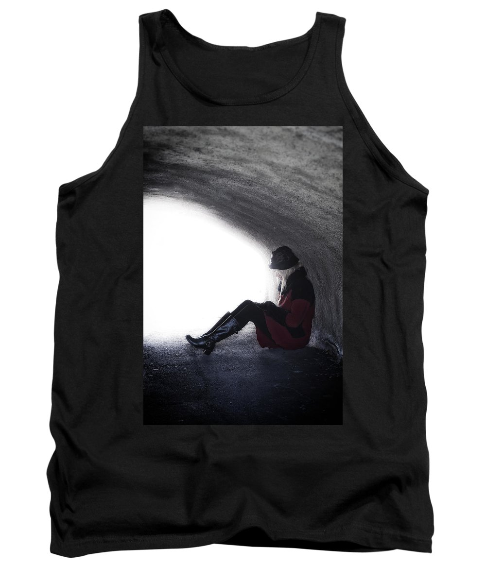 Woman Tank Top featuring the photograph Tunnel by Joana Kruse