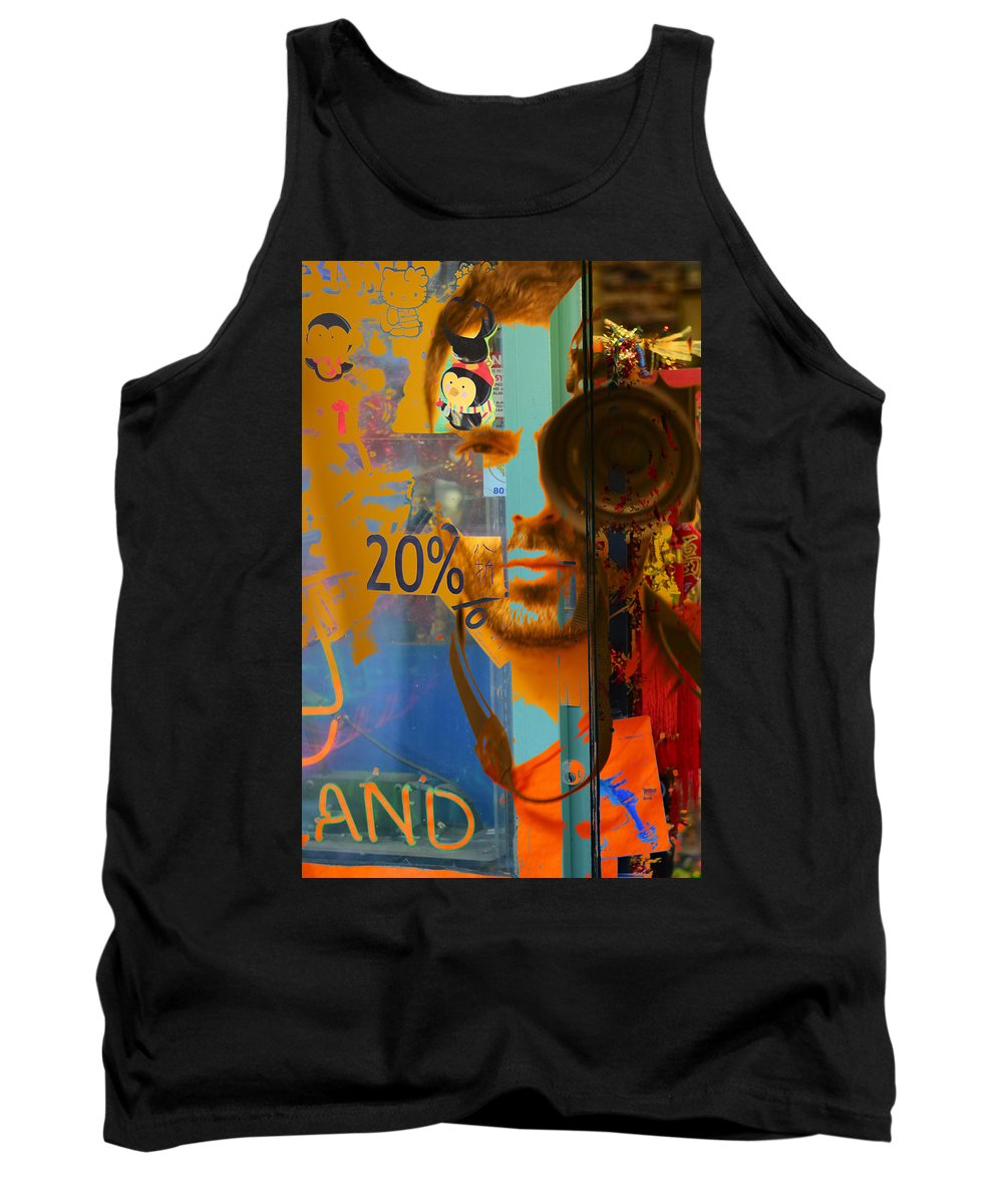 Vancouver Tank Top featuring the photograph Twenty Percent Of Creativity by The Artist Project