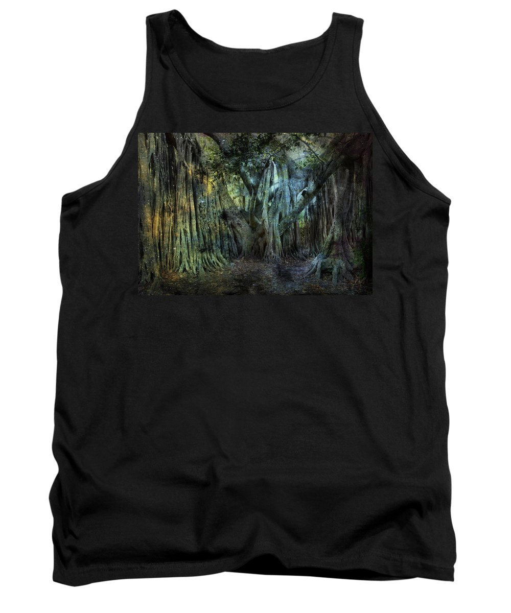 Evie Tank Top featuring the photograph Twilight Deep In Florida by Evie Carrier