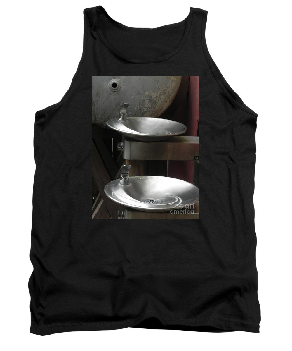 Photography Tank Top featuring the photograph Two Thristy  by Chrisann Ellis