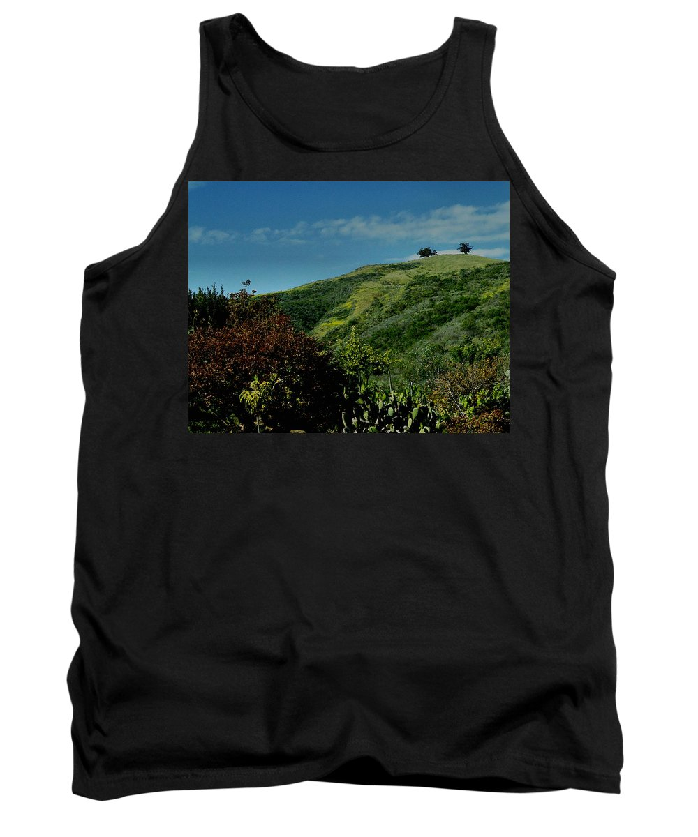 Nature Tank Top featuring the photograph Two Trees by Michael Gordon