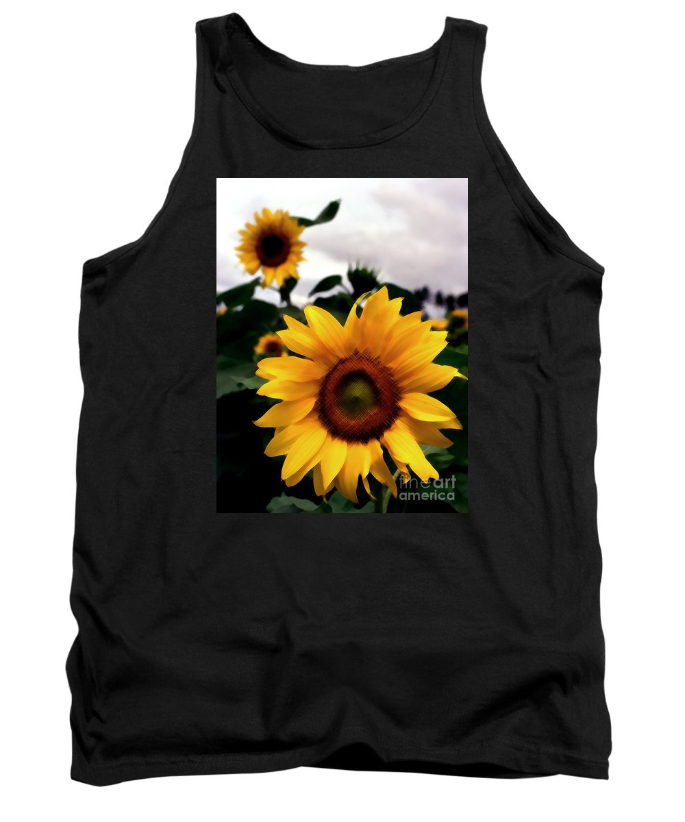 Artistic Tank Top featuring the photograph Twosome by Mir Azeezur Rahman