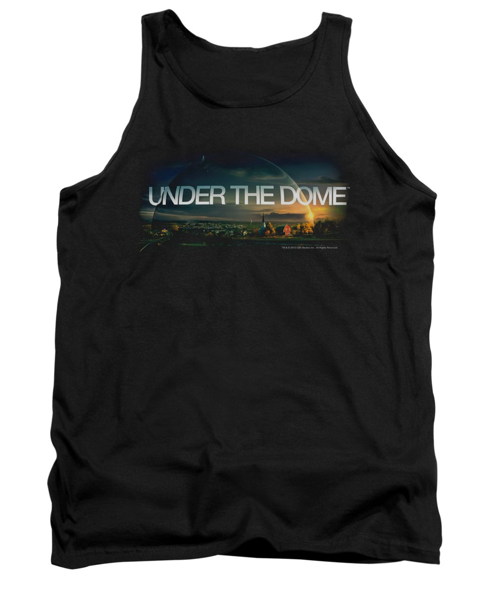 Under The Dome Tank Top featuring the digital art Under The Dome - Dome Key Art by Brand A