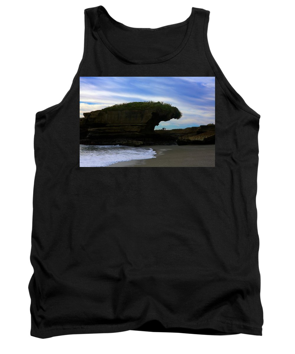 New Zealand Tank Top featuring the photograph Under The Overhang #2 by Stuart Litoff