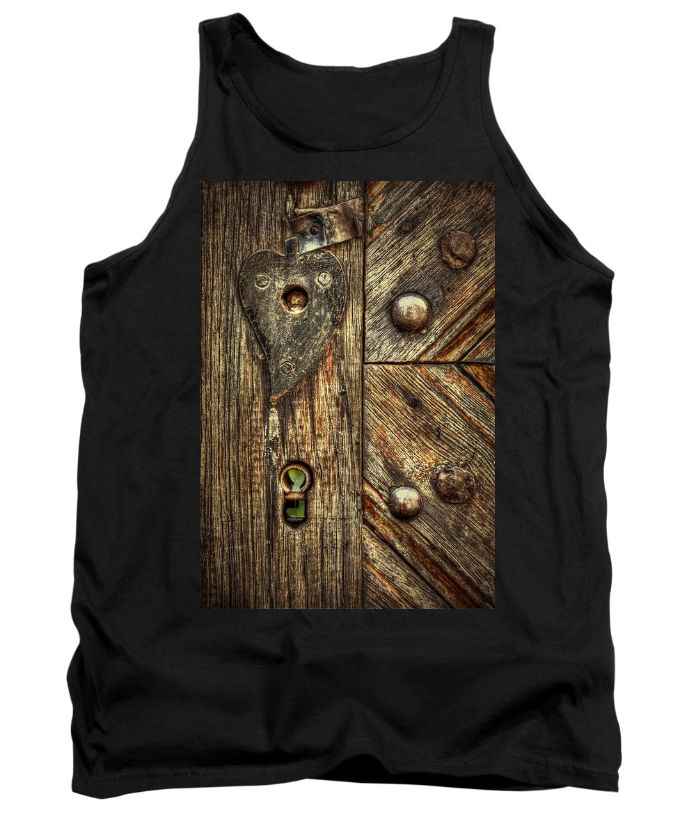 Wood Tank Top featuring the photograph Unlock My Heart by Evelina Kremsdorf