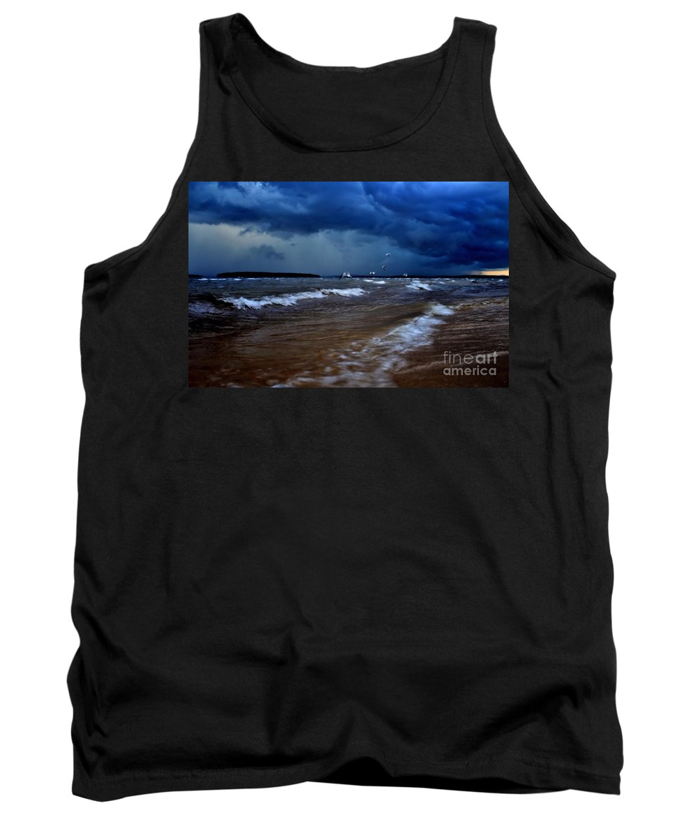 Travel Tank Top featuring the photograph Untamed Nature 2 by Chet B Simpson